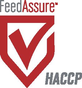 Feed Assure Certified, HACCP Certified
